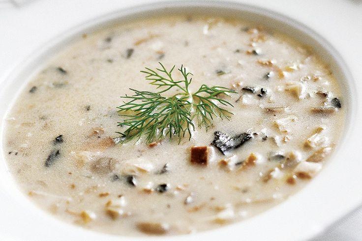 Mixed #mashroom #soup #recipe #cuisine