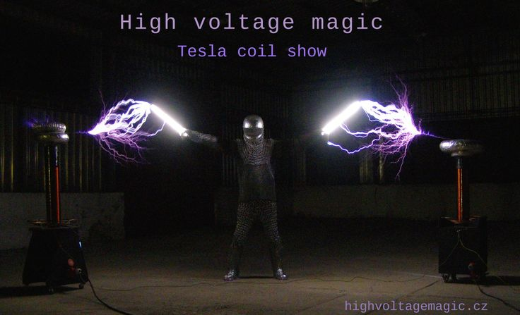 tesla coil knight