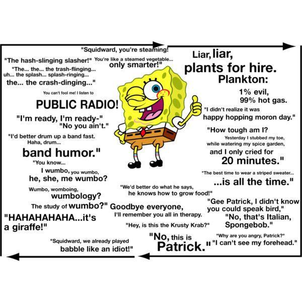 hottest spongebob quotes - photo #30