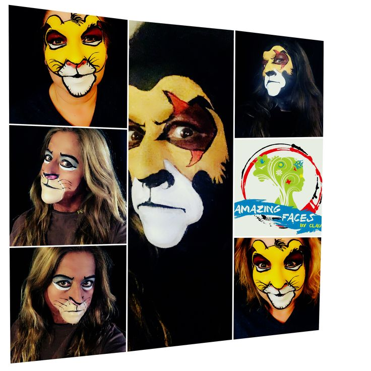 The Lion king  Face painting and makeup artist  si fun