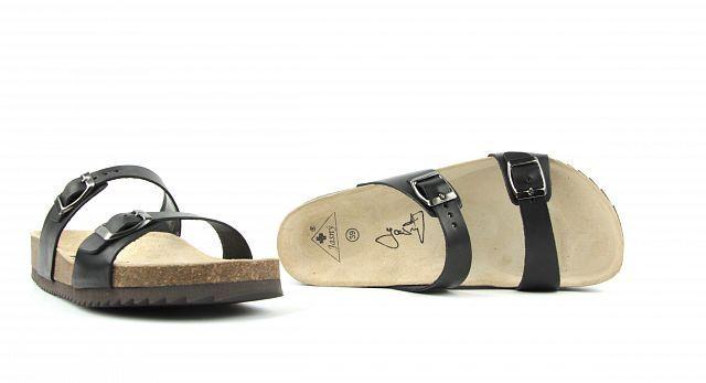 8061f477fde Zdravotní obuv Jasný pantofle 2002 M1 černé 2597