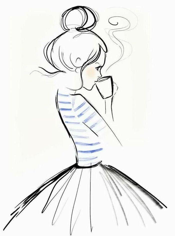 1001 Sch Ne Bilder Zum Nachmalen Und Video Anleitungen Bilder Wohnzimmer Bilder Malen Bilder Ide Pictures To Paint Easy Drawings Girl Drawing Sketches