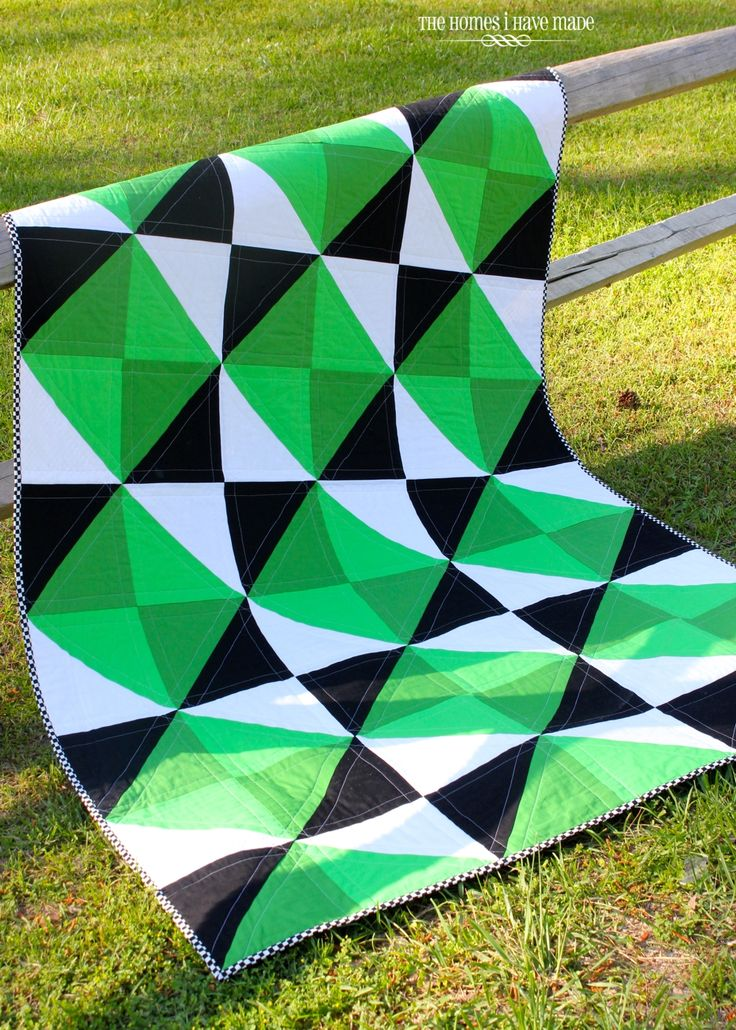 Henry's Green Quilt-005