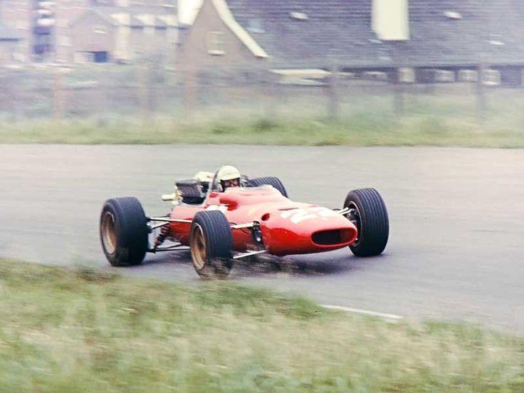 Ludovico Scarfiotti Zandvoort Ferrari 312 1967 Ludovico