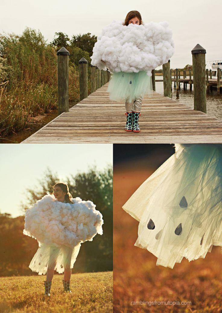 Adorable Rain Cloud Halloween Costume  ||  Ramblings From Utopia: {WW} #Halloween #Costume