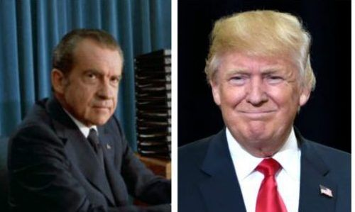 Richard Nixon wrote a letter to Donald Trump back in 1987 and his wife made an incredible prediction about his future