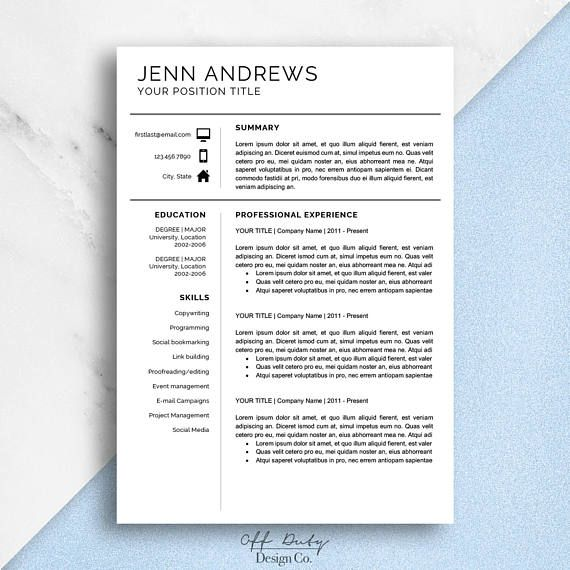 25+ best ideas about Simple Resume Examples on Pinterest - simple resume samples