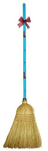 """CuteTools! 15024 Garden Broom, Lonestar by CuteTools!. $28.00. Beautiful hand painted handle. 5 rows of reinforced stitching and a larger 15/16"""" diameter handle. Broom head has a full shoulder and is made with all corn fibers for durability and sweeping. The garden broom has a place in every garage or garden shed. the broom head has a full shoulder and is made with all corn fibers for durability and sweeping even the biggest of jobs. it could also be used for kitchen clean up and..."""