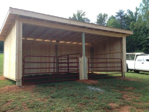 Horse Barns Do It Yourself : Best horse shed ideas on pinterest