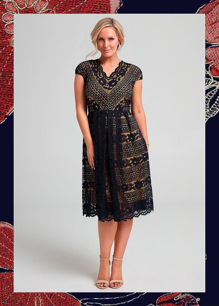 Capri Lace Dress #takingshape #plussize #curvy #eventwear #event #specialevent