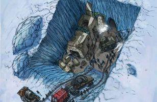 ¿Descubrieron ruinas de una civilización de origen extraterrestre en la Antártida? | Ovnis