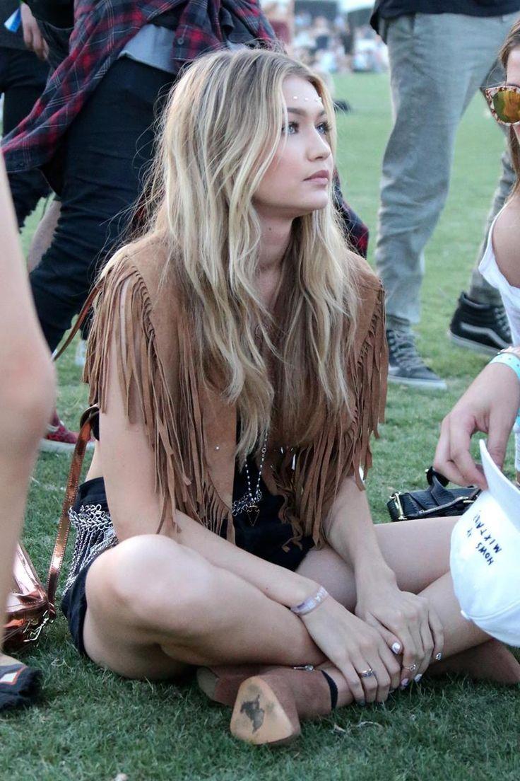 Gigi Hadid. Coachella 2015 |  Vanity Fair