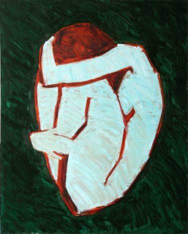 "Saatchi Art Artist Svetlana Shebarshina; Painting, ""My heart without you"" #art"