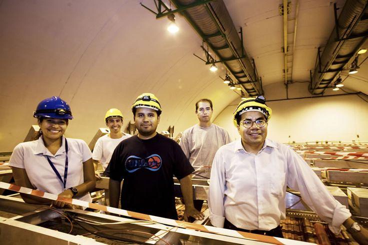 Mexicanos desarrollan detector de rayos cósmicos para el Gran Colisionador de Hadrones - http://webadictos.com/2015/05/01/detector-de-rayos-cosmicos-para-el-gran-colisionador-de-hadrones/?utm_source=PN&utm_medium=Pinterest&utm_campaign=PN%2Bposts
