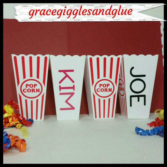 Check out this item in my Etsy shop https://www.etsy.com/listing/262623239/5-personalized-reusable-popcorn-tubs