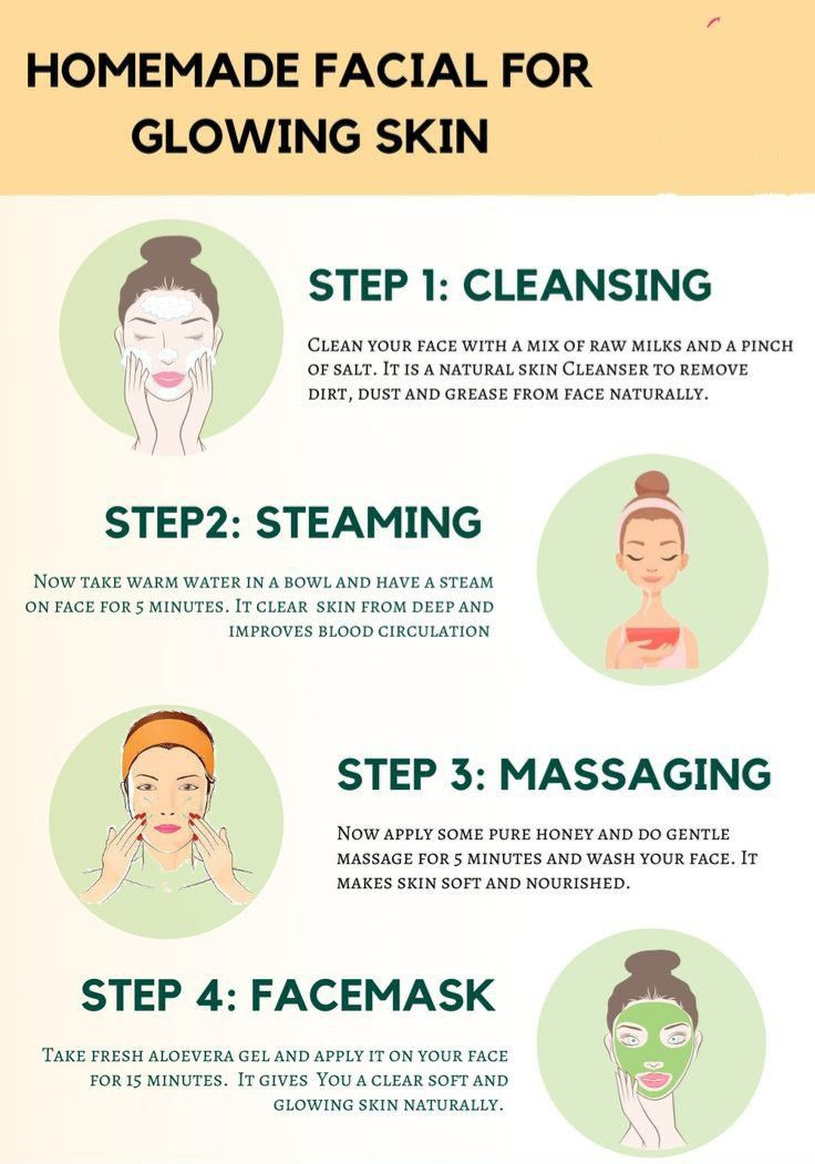 Diy Facial For Glowing Skin Beauty Skin Care Routine Skin Care Remedies Natural Skin Cleansers
