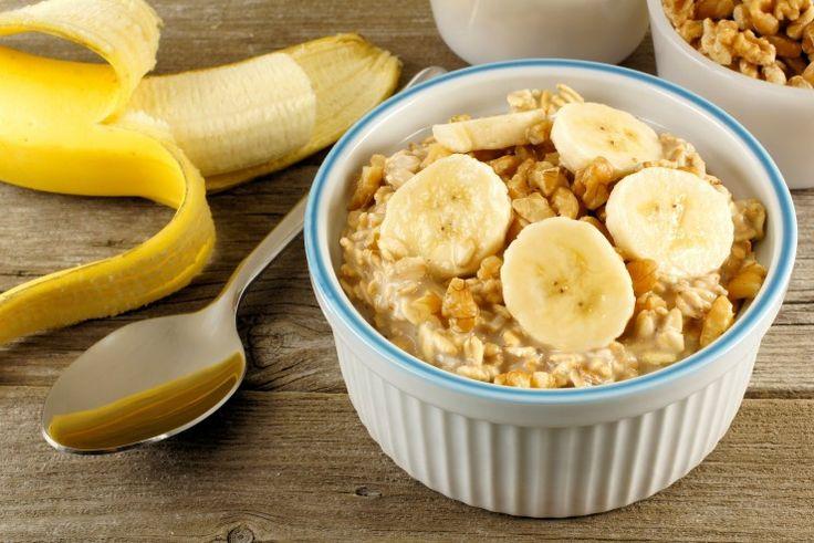 вкусные рецепты овсянки 3. Овсянка с бананом