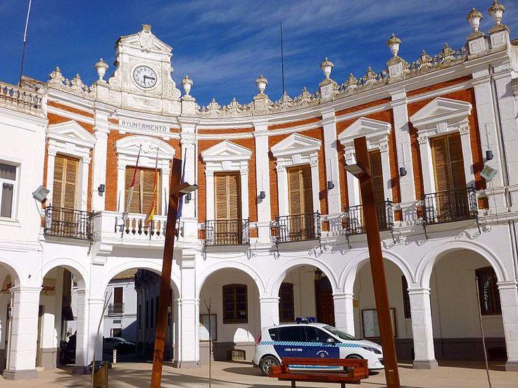 Manzanares - Ayuntamiento 1 - Manzanares (Ciudad Real) - Wikipedia, la enciclopedia libre