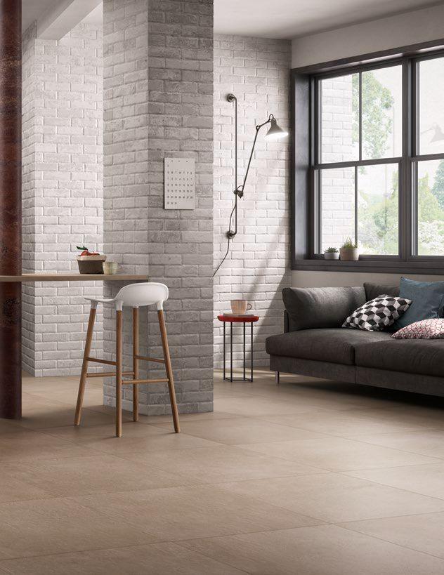 Ragno #Studio Tortora 60x60 cm R4PW  #Gres #cemento #60x60  su # ...