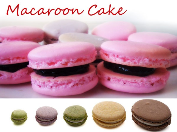 all in one macaroon cake
