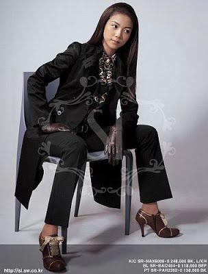 Kim Ok-bin is all dressed-up |
