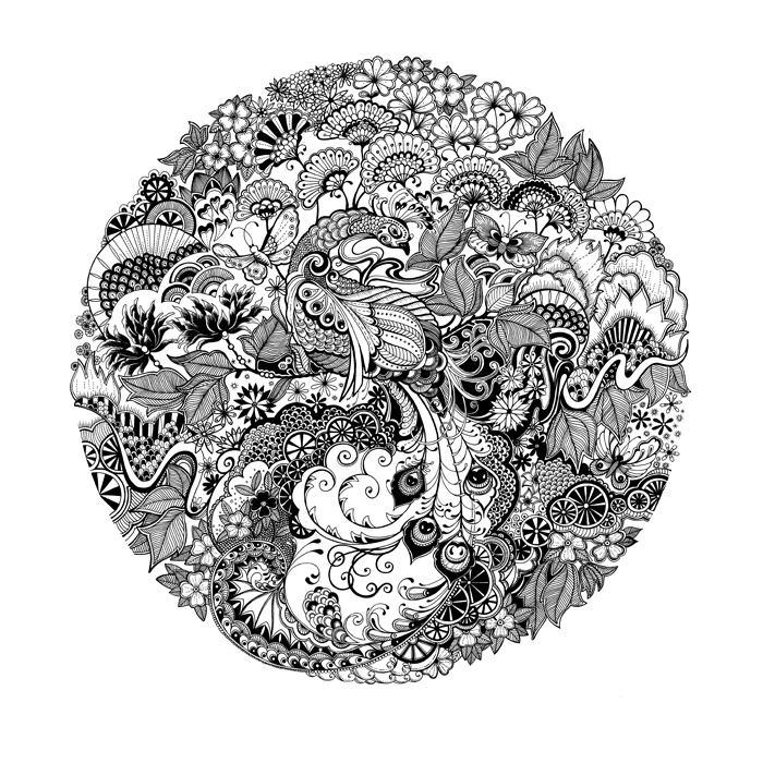 27 Best Johanna Basford Illustration Images On Pinterest