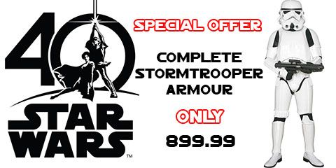 STAR WARS : Costumes and Toys - Summer Stormtrooper Sale