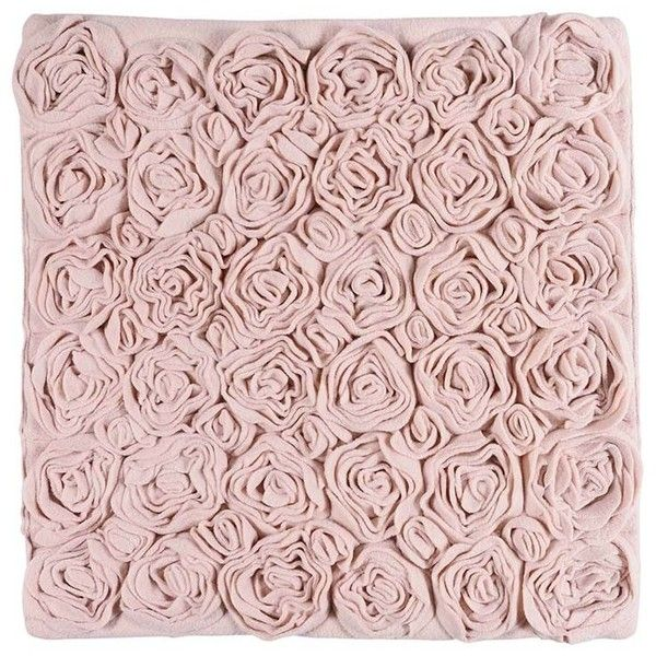 Aquanova Rose Bath Mat - Blush - 60x60cm (64 CAD) ❤ liked on Polyvore featuring home, bed & bath, bath, bath rugs, pink, rose bath mat, pink bathroom rugs and pink bath mat