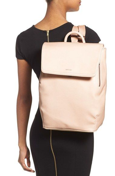Matt & Nat 'Fabi' Vegan Leather Laptop Backpack | Nordstrom
