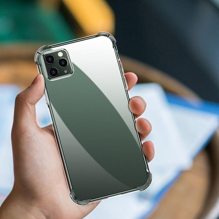Fashion shockproof bumper transparent silicone phone case