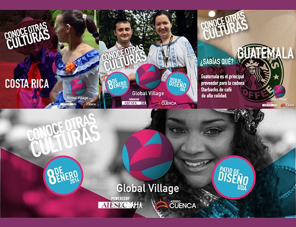 Global Village Cuenca 2014 - AIESEC en Cuenca - AIESEC - Feria de Culturas - Cultura