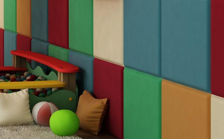 Dzięki panelom DecoCube gładka, zimna i twarda ściana staje się przyjazna, przytulna i miła w dotyku.