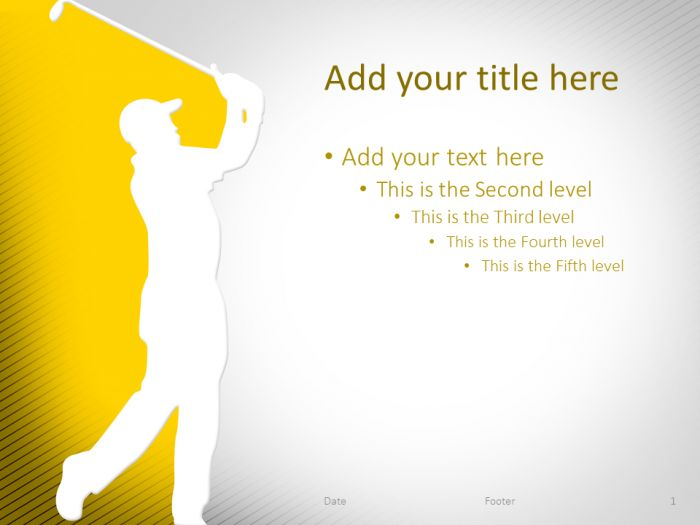 The 47 Best Images About Sport Powerpoint Templates On Pinterest