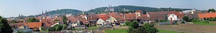 Blick über die Gärtnerstadt auf Altenburg, Dom &…
