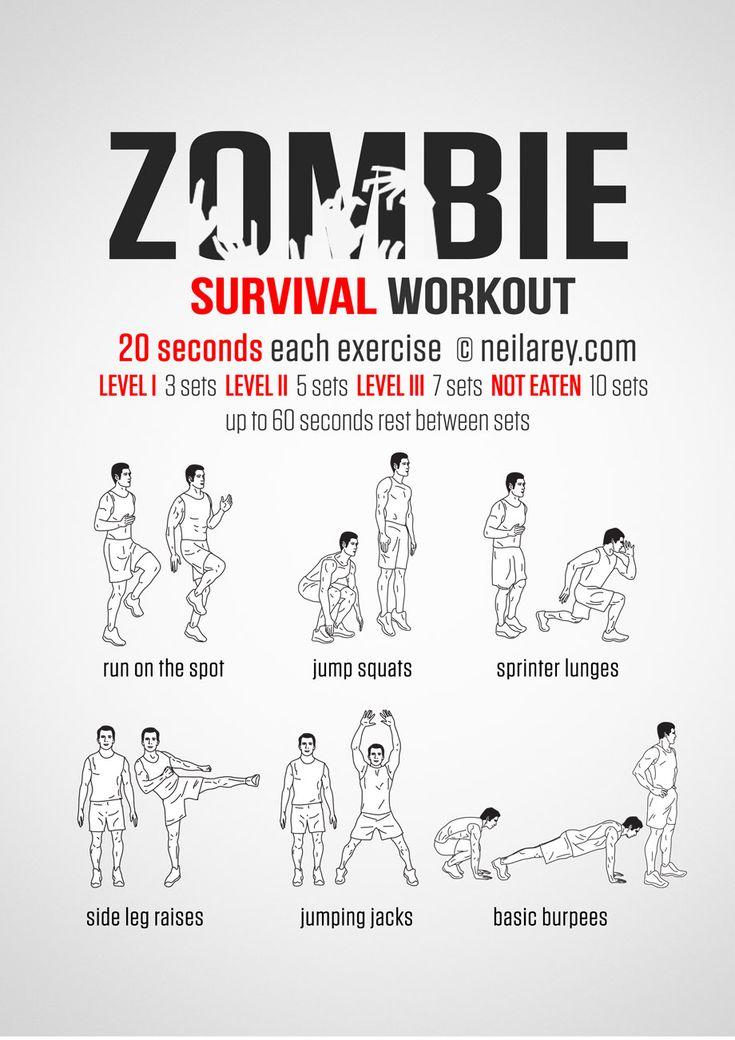 Zombie Apocalypse survival workout.