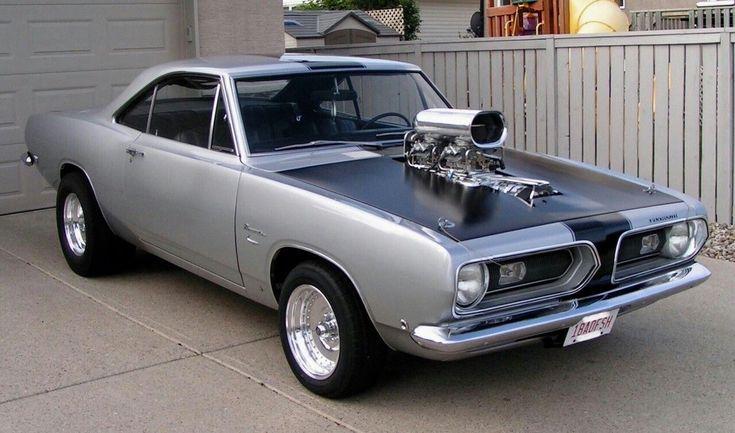 Plymouth Barracuda. #VintageMuscleCars