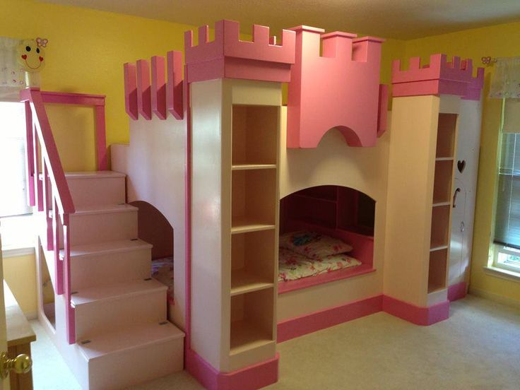 How about this for your little Princess?!?! I'm told it's one of a kind, built from scratch! Lucky little girl:-)