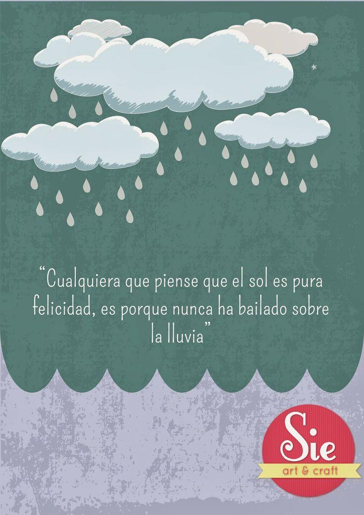 Sie - Art & Craft: Día de lluvia ♥