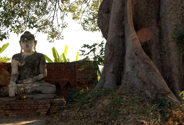 Buddha Statue in Amarapura