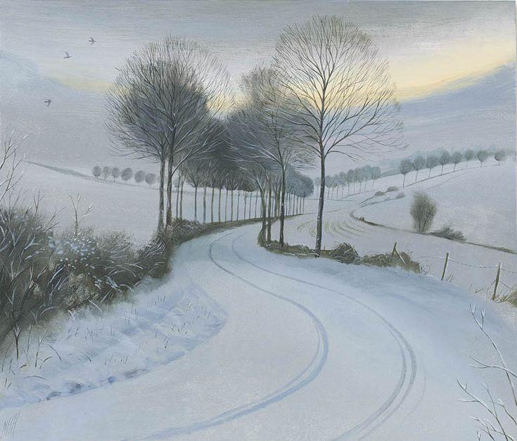 Nicholas Hely Hutchinson | (24) Cold Morning near Moor Crichel