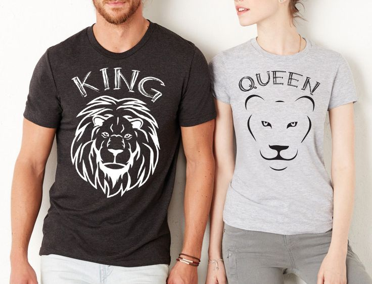 couples shirts king shirt queen shirt king and queen lion king custom - Cool Tshirt Design Ideas