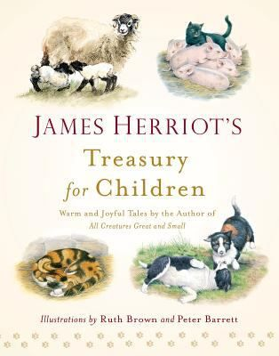 "James Herriot's Treasury for Children  (Book) : Herriot, James : A collection of the author's stories for children, including ""Moses the Kitten, "" ""The Market Square Dog, "" and ""Smudge, the Little Lost Lamb."""