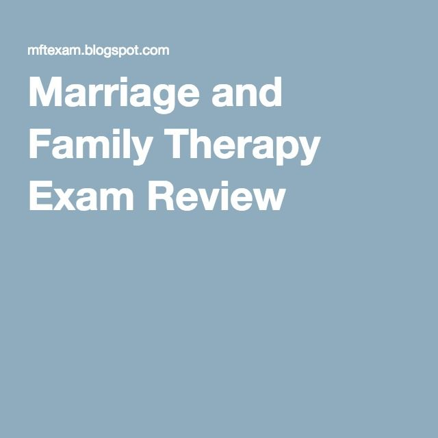 Marriage and Family Therapy quick model papers