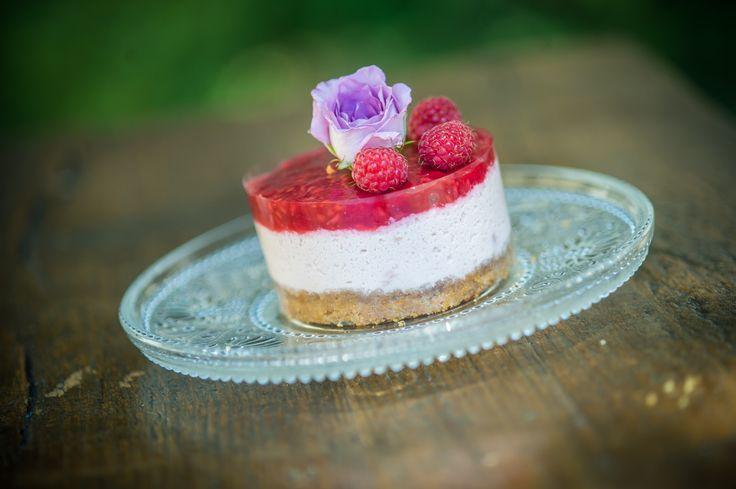 nekedcake tortácska rosa flower fruit raspberry wedding love
