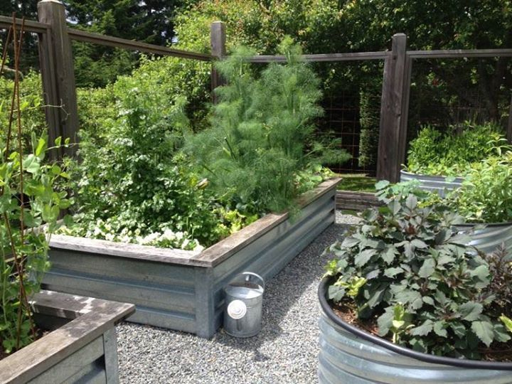 34 best Wood & Metal Raised Beds images on Pinterest | Garden beds ...