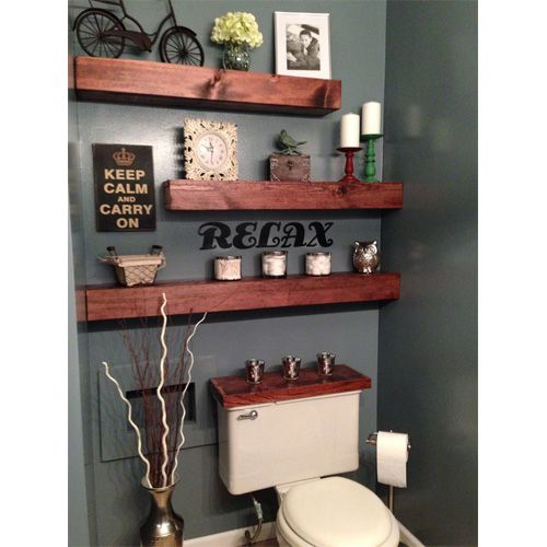 | 2014 Interior Design Trends: Floating Shelves | Six Different Ways