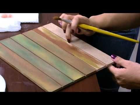 DIY CAJA IMITACION DE CUERO CORTADO(en cartapesta) - YouTube