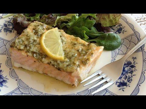 Muy Locos Por La Cocina: Salmón Asado con Mostaza, Ajo y