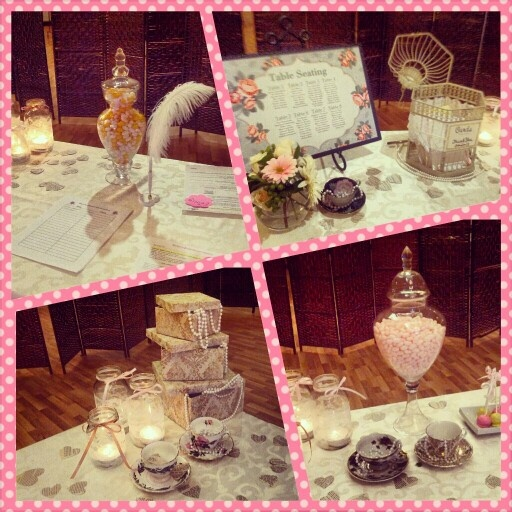 Vintage wedding shower