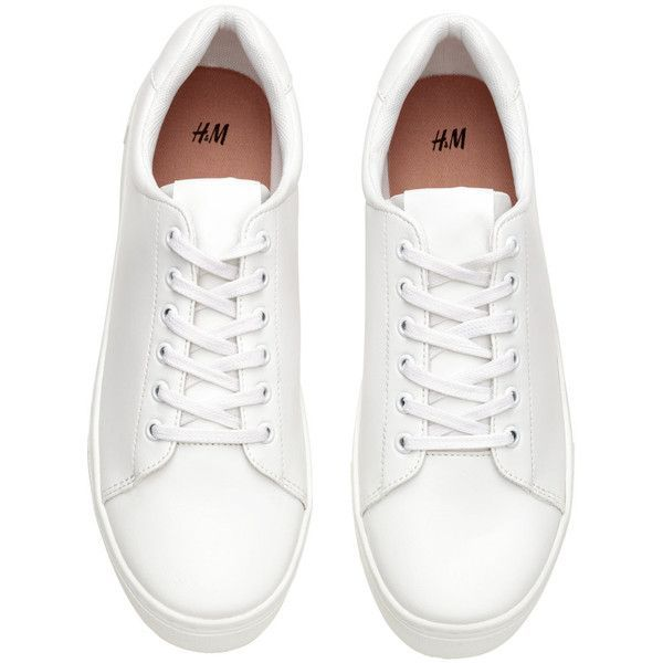 Image result for h\u0026m white sneakers